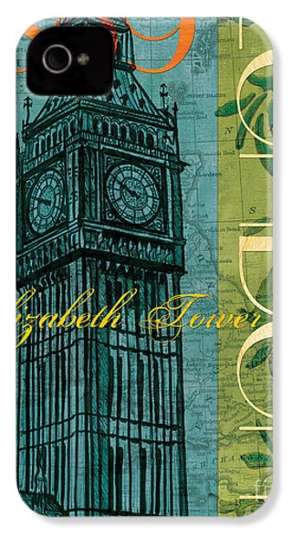 London 1859 IPhone 4 / 4s Case by Debbie DeWitt