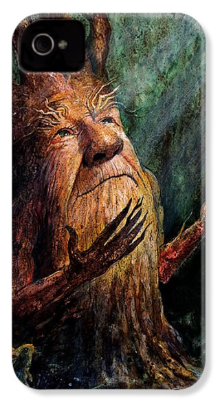 Looking To The Light IPhone 4 / 4s Case by Frank Robert Dixon