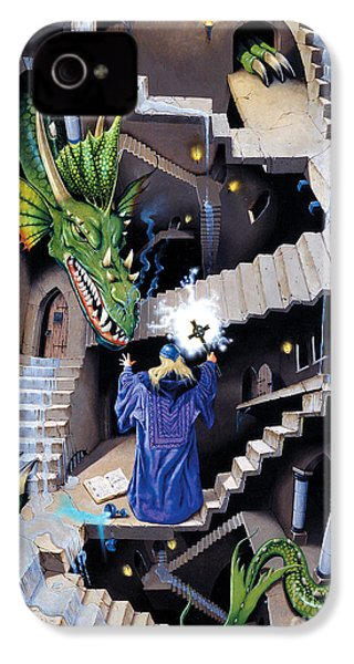 Lord Of The Dragons IPhone 4 / 4s Case by Irvine Peacock