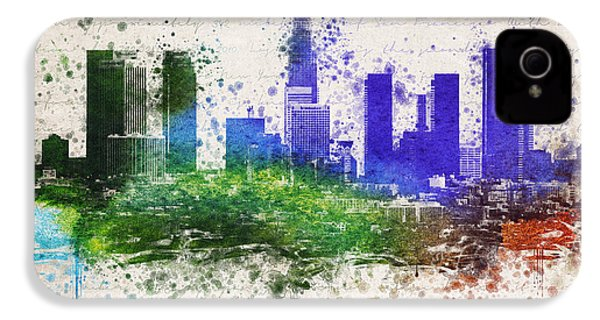 Los Angeles In Color  IPhone 4 / 4s Case by Aged Pixel