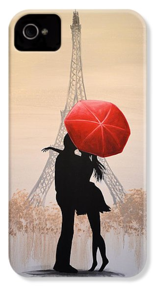 Love In Paris IPhone 4 / 4s Case by Amy Giacomelli