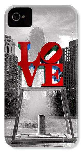 Love Isn't Always Black And White IPhone 4 / 4s Case by Paul Ward