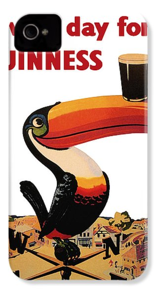 Lovely Day For A Guinness IPhone 4 / 4s Case by Nomad Art