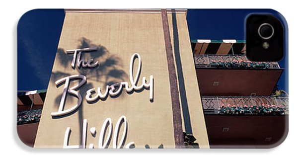 Low Angle View Of A Hotel, Beverly IPhone 4 / 4s Case by Panoramic Images