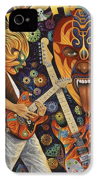 Lucha Rock IPhone 4 / 4s Case by Ricardo Chavez-Mendez
