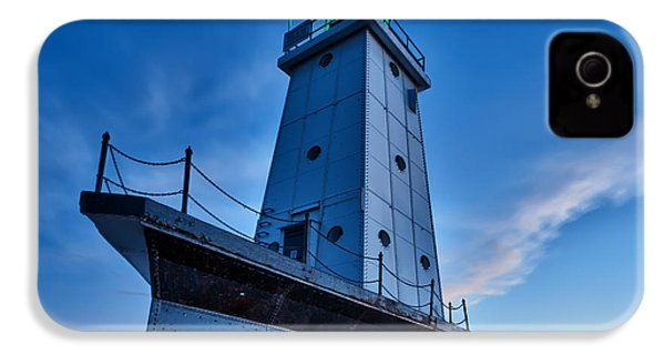 Ludington Lighthouse IPhone 4 / 4s Case by Sebastian Musial