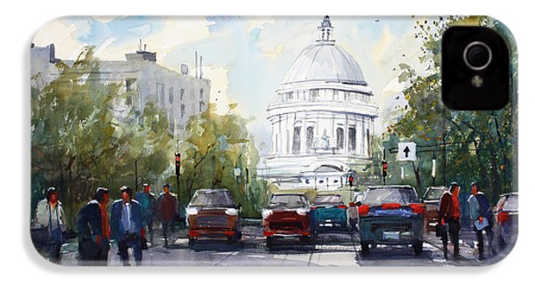 Madison - Capitol IPhone 4 / 4s Case by Ryan Radke