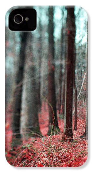 Magical Forest IPhone 4 / 4s Case by Kim Fearheiley