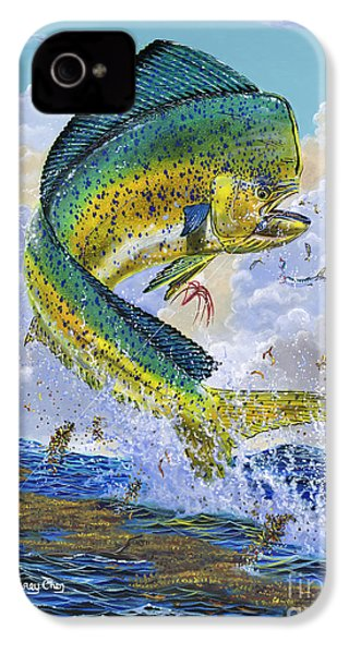 Mahi Hookup Off0020 IPhone 4 / 4s Case by Carey Chen