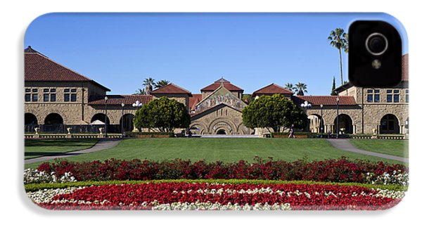 Main Quad Stanford California IPhone 4 / 4s Case by Jason O Watson