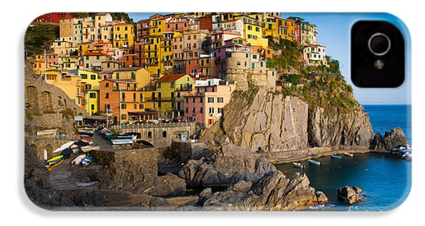 Manarola IPhone 4 / 4s Case by Inge Johnsson