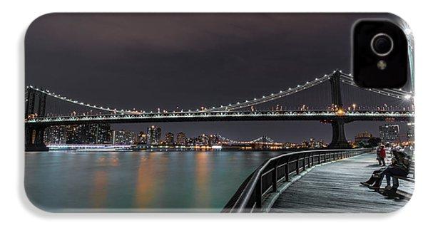 Manhattan Bridge - New York - Usa 2 IPhone 4 / 4s Case by Larry Marshall