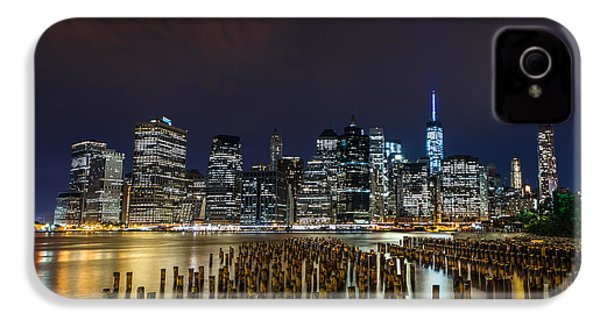 Manhattan Skyline - New York - Usa IPhone 4 / 4s Case by Larry Marshall