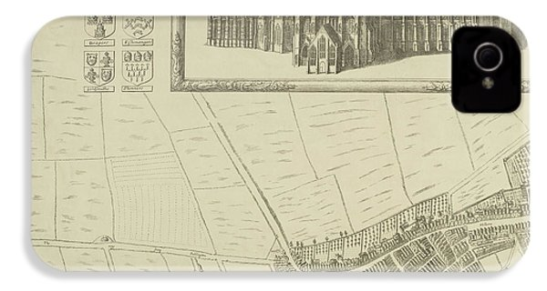 Map Of Westminster In The City Of London IPhone 4 / 4s Case by British Library