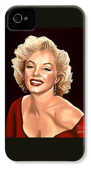 Marilyn Monroe 3 IPhone 4 / 4s Case by Paul Meijering
