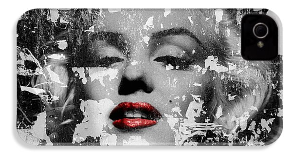 Marilyn Monroe 5 IPhone 4 / 4s Case by Andrew Fare