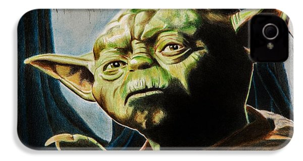 Master Yoda IPhone 4 / 4s Case by Brian Broadway
