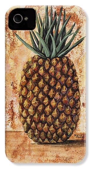 Maui Pineapple IPhone 4 / 4s Case by Darice Machel McGuire