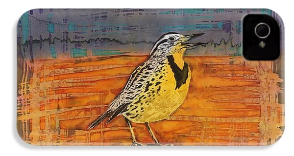 Meadows Song IPhone 4 / 4s Case by Carolyn Doe