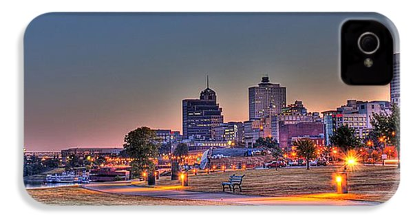 Cityscape - Skyline - Memphis At Dawn IPhone 4 / 4s Case by Barry Jones