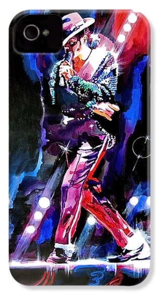 Michael Jackson Moves IPhone 4 / 4s Case by David Lloyd Glover