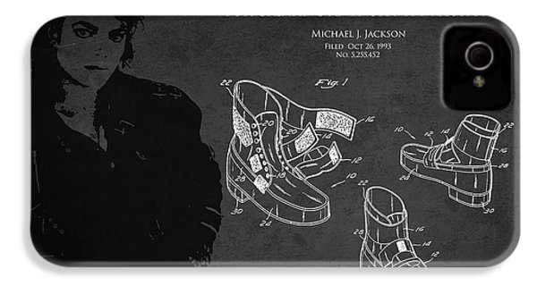 Michael Jackson Patent IPhone 4 / 4s Case by Aged Pixel