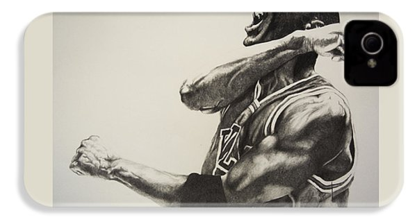 Michael Jordan IPhone 4 / 4s Case by Jake Stapleton