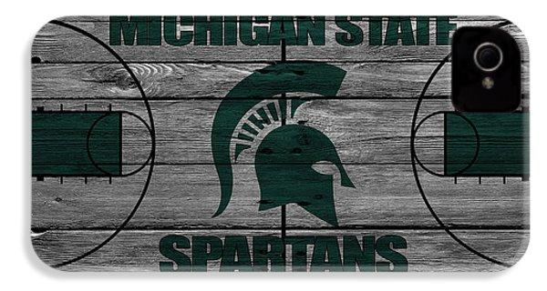Michigan State Spartans IPhone 4 / 4s Case by Joe Hamilton