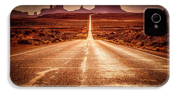 Miles To Go Special Request IPhone 4 / 4s Case by Jennifer Grover