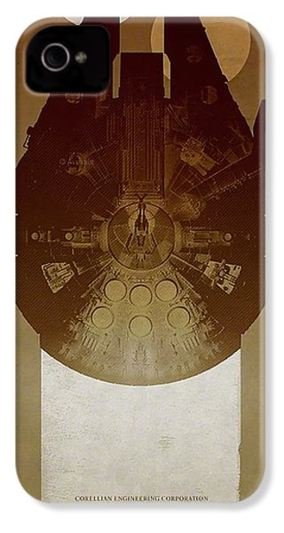 Millennium Falcon IPhone 4 / 4s Case by Baltzgar