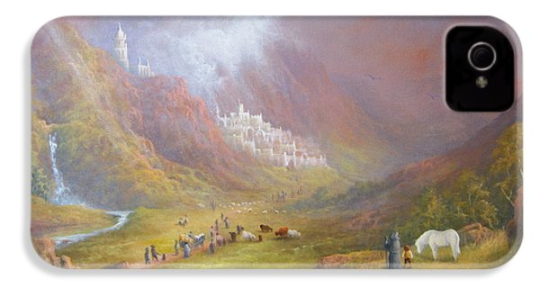 Minas Tirith  War Approaches. IPhone 4 / 4s Case by Joe  Gilronan