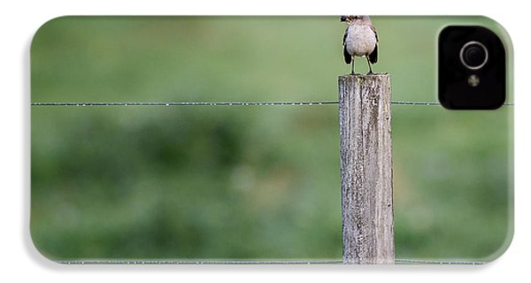 Minimalism Mockingbird IPhone 4 / 4s Case by Bill Wakeley