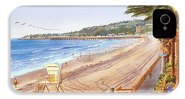 Mission Beach San Diego IPhone 4 / 4s Case by Mary Helmreich