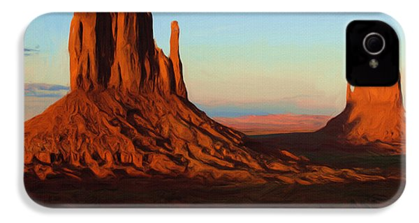Monument Valley 2 IPhone 4 / 4s Case by Ayse Deniz