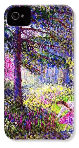 Morning Dew IPhone 4 / 4s Case by Jane Small