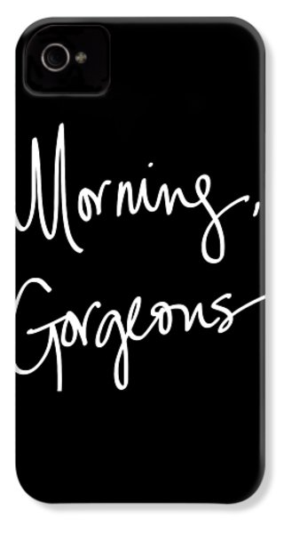 Morning Gorgeous IPhone 4 / 4s Case by South Social Studio