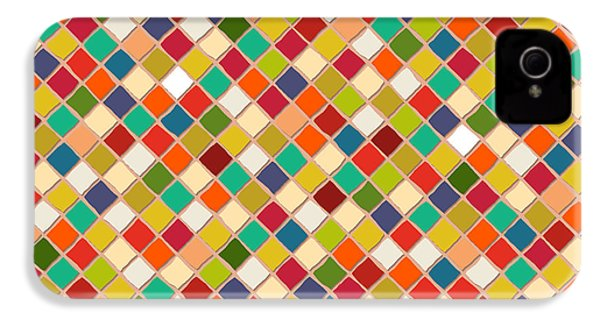 Mosaico IPhone 4 / 4s Case by Sharon Turner