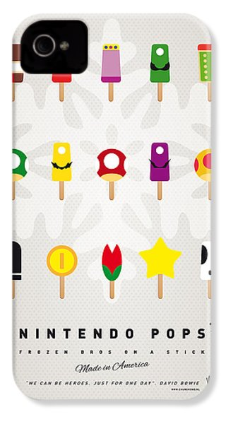 My Mario Ice Pop - Univers IPhone 4 / 4s Case by Chungkong Art