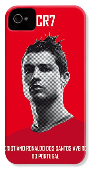 My Ronaldo Soccer Legend Poster IPhone 4 / 4s Case by Chungkong Art