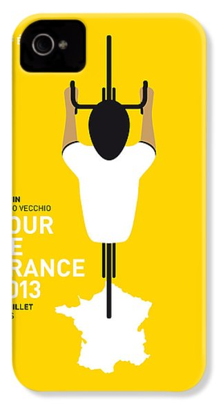 My Tour De France Minimal Poster IPhone 4 / 4s Case by Chungkong Art