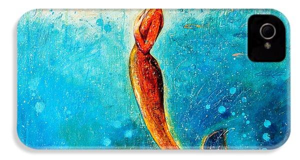 Mystic Mermaid II IPhone 4 / 4s Case by Shijun Munns