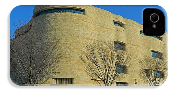 National Museum Of The American Indian IPhone 4 / 4s Case by Emmy Marie Vickers