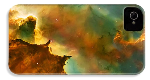 Nebula Cloud IPhone 4 / 4s Case by The  Vault - Jennifer Rondinelli Reilly