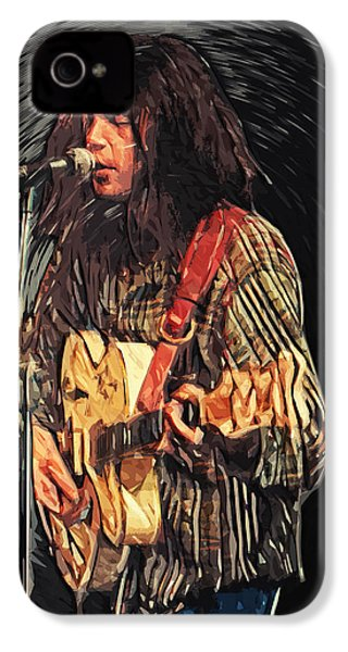 Neil Young IPhone 4 / 4s Case by Taylan Soyturk