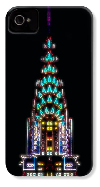 Neon Spires IPhone 4 / 4s Case by Az Jackson