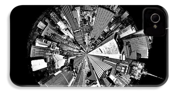 New York 2 Circagraph IPhone 4 / 4s Case by Az Jackson