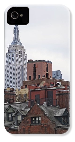 New York Buttes IPhone 4 / 4s Case by Rona Black