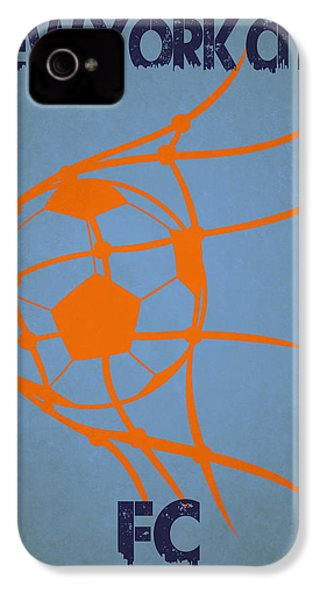 New York City Fc Goal IPhone 4 / 4s Case by Joe Hamilton