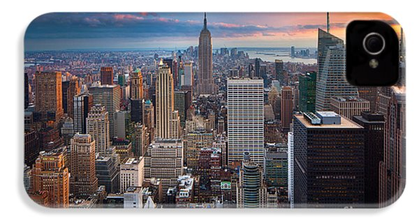New York New York IPhone 4 / 4s Case by Inge Johnsson