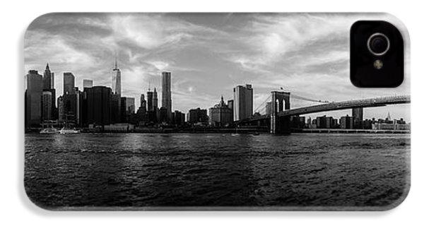 New York Skyline IPhone 4 / 4s Case by Nicklas Gustafsson
